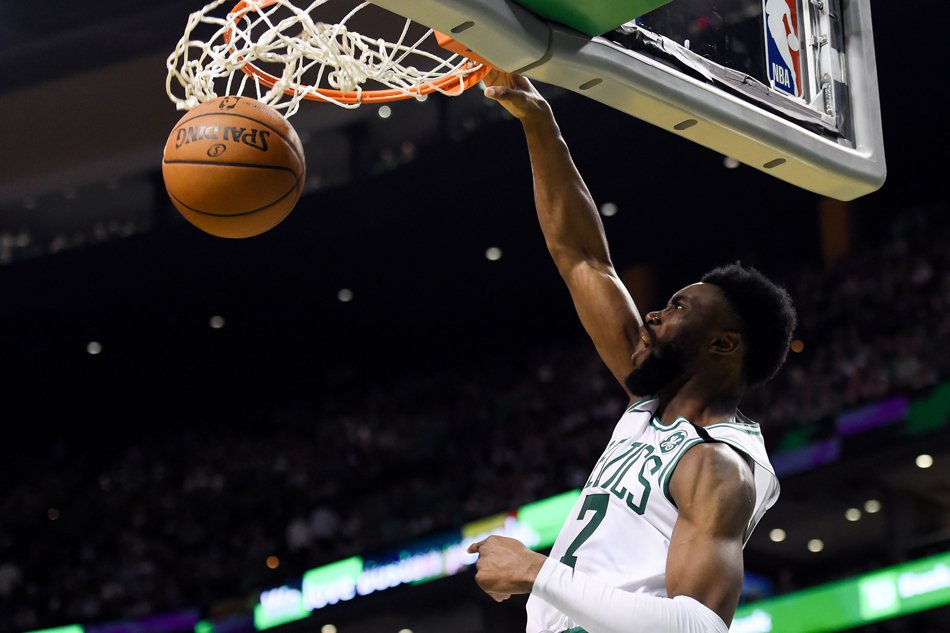 The Boston Celtics used LeBron James' great start against him