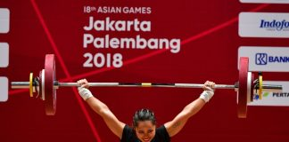 Weightlifter Hidilyn Diaz hands Philippines first 2018 Asian Games gold
