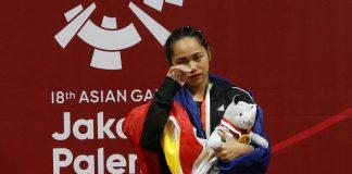 Weightlifter Hidilyn Diaz | Philippines | Asian Games