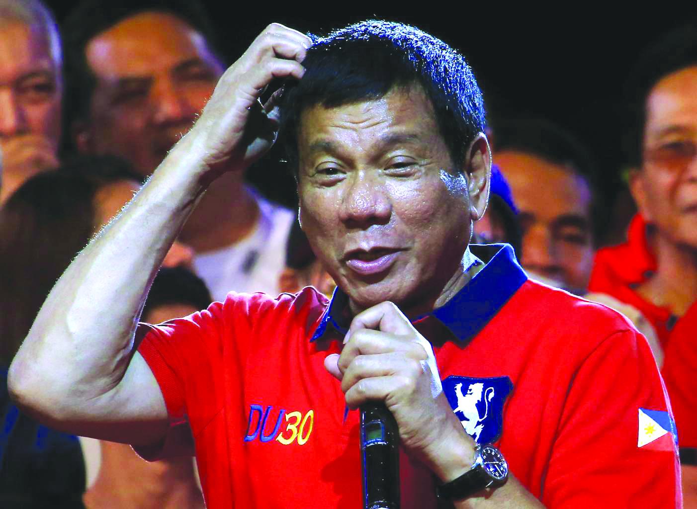 Duterte blames 'beautiful women' for rape cases