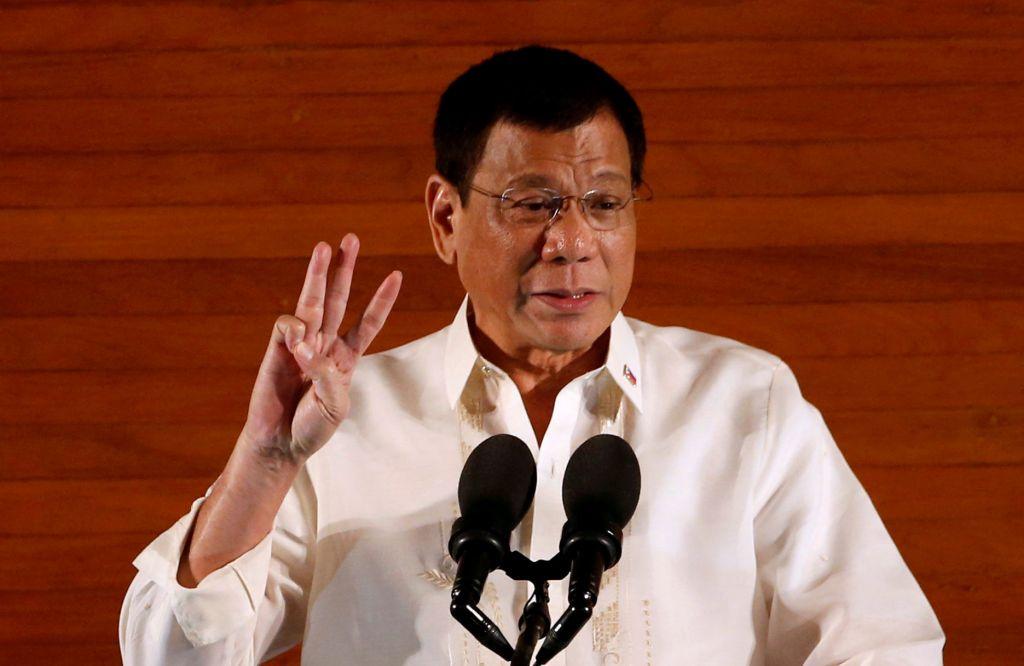 Duterte looks to fighting drugs thru entire term