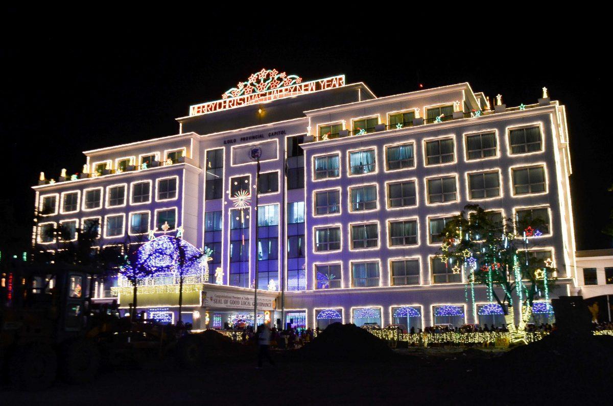 Visitors Marvel At Iloilo Capitol Lights