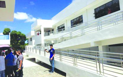 A P37 million regional evacuation center opens in Barangay Tigayon, Kalibo, Aklan on March 6. PNA