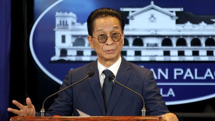 Presidential Spokesman Salvador Panelo