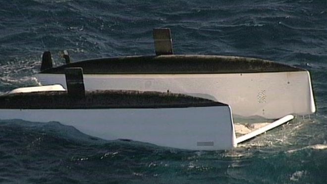 Three people die after a catamaran overturned off the coast of New South Wales, Australia. ABC NEWS