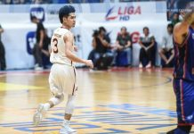 Ilonggo Edgar Charcos comes up clutch anew for University of Perpetual Help Altas in their 75-73 win over Arellano University Chiefs. ABS CBN SPORTS PHOTO