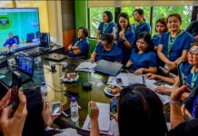 Health secretary Francisco Duque holds a videoconference with officials of the Department of Health – Western Visayas regional office in Iloilo City on July 15, 2019. He says effective surveillance can help reduce dengue cases and prevent deaths. IAN PAUL CORDERO/PN