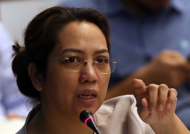 Former Health secretary Janette Garin