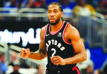 Kawhi Leonard is going to be a Clipper. REUTERS