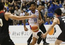 Filipino-American Mikey Williams had his best game for Mighty Sports-Go For Gold Philippines during their win against Japan on Sunday. CONTRIBUTED PHOTO