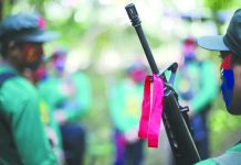 The town of Toboso in Negros Occidental recently declared members of the Communist Party of the Philippines and its armed wing New People's Army as persona non-grata. Lieutenant Colonel Emelito Thaddeus Logan, commanding officer of 79th Infantry Battalion, said terrorist group destroy peace and development of the communities in tshe province. PH.VLTRENDS.COM