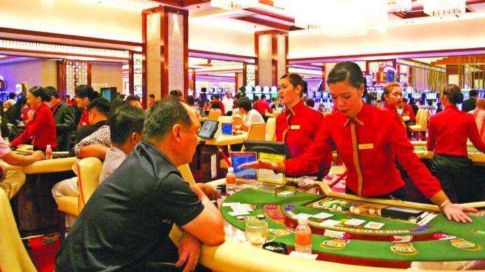 casino slot machine background