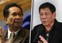 Presidential Spokesman Salvador Panelo (left) says the best is yet to come in President Rodrigo Duterte's administration as he enters his fourth year of presidency. ABS-CBN NEWS