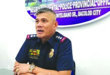 Negros Occidental Police Provincial Office director Colonel Romeo Baleros. PNA