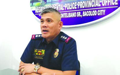 Negros Occidental Police Provincial Office director Colonel Romeo Baleros. PNA