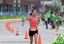 Alexandra Ganzon is among those who qualified in last year's Iloilo leg of the Milo Marathon. RUNRIO EVENTS PHOTO