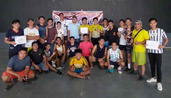Central Philippine University Golden Lions' sepak takraw team
