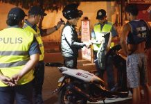 Expect more checkpoints soon in Iloilo City and other parts of Western Visayas like this one targeting motorcycle riders. The Highway Patrol Group will be helping the Police Regional Office 6 catch motorcycle-riding criminals. IAN PAUL CORDERO/PN