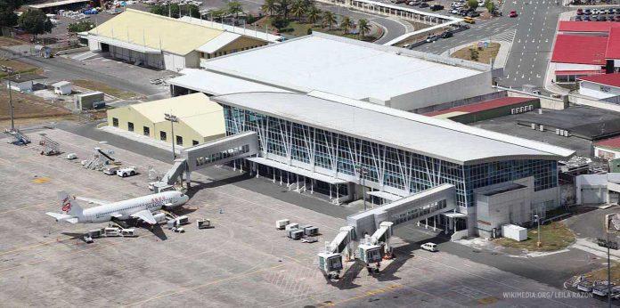 Clark International Airport Terminal in Pampanga. LEILA RAZON