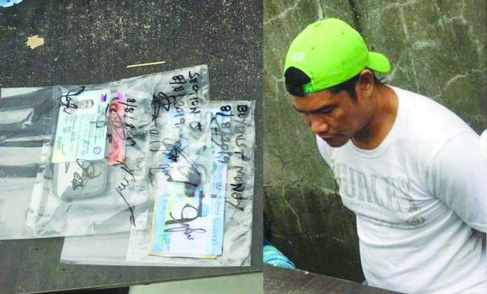Drug surrenderer Efren Villanueva was arrested in an entrapment operation. He allegedly sold suspected shabu to a poseur-buyer on Aug. 8. PDEA REGION 6