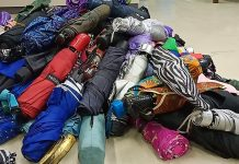 The Iloilo International Airport seized these umbrellas from passengers leaving the province bound for different destinations. ABS-CBN NEWS