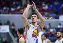 Jeth Troy Rosario had a career-game of 34 points for TNT KaTropa in Game 2 but missed free throws in the crucial stage led to his team's defeat. SPIN.PH PHOTO