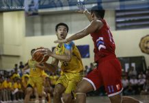 John Amores spearheaded the attack for the Jose Rizal University Heavy Bombers in their come-from behind win over Emilio Aguinaldo College Generals. ABS-CBN SPORTS PHOTO