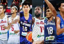 June Mar Fajardo, Gabe Norwood, Roger Pogoy, Andray Blatche, Jeth Troy Rosario, and Japeth Aguilar. CNN PHILIPPINES GRAPHICS