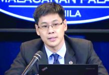 Finance undersecretary Karl Chua