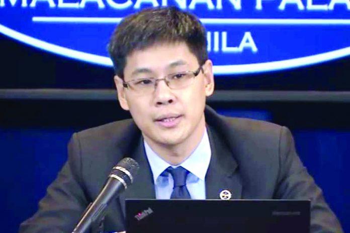 Finance undersecretary Karl Chua