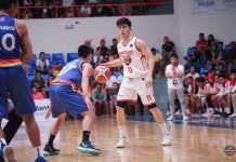 Nico Paolo Javelona's all-around effort for the Bacolod Master Sardines is all for naught. His squad lost to the Bacoor Strikers in overtime. MPBL PHOTO