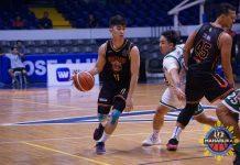 Nico Paolo Javelona plays for the Bacolod Master Sardines in the Maharlika Pilipinas Basketball. MPBL PHOTO