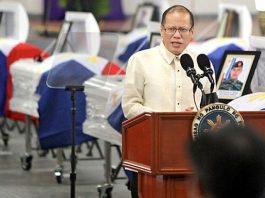 "Former president Benigno ""Noynoy"" Aquino III"