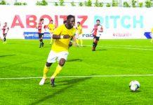 Robert Lopez Mendy. CERES-NEGROS FC PHOTO