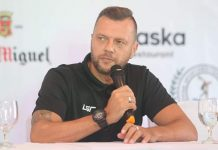 """""""We have to give a bit more fight and have a lot more belief,"""" says Philippine Azkals head coach Scott Cooper. PSA PHOTO"""