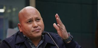 """What is 11,000 compared to the whole Filipino nation na matagal ng sinamantalahan ng isang kumpanya,"" says Sen. Ronald ""Bato"" Dela Rosa. ABS-CBN NEWS"