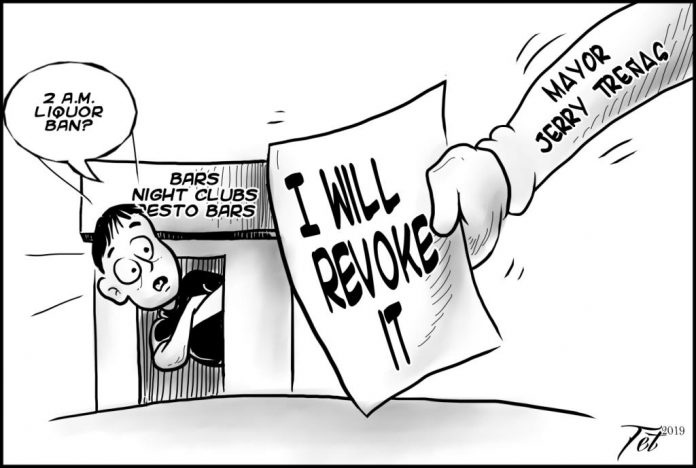 Editorial cartoon for August 15, 2019