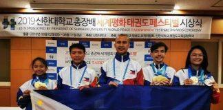 Aklan Taekwondo Team. PHOTO COURTESY OF WVRAA IN ACTION
