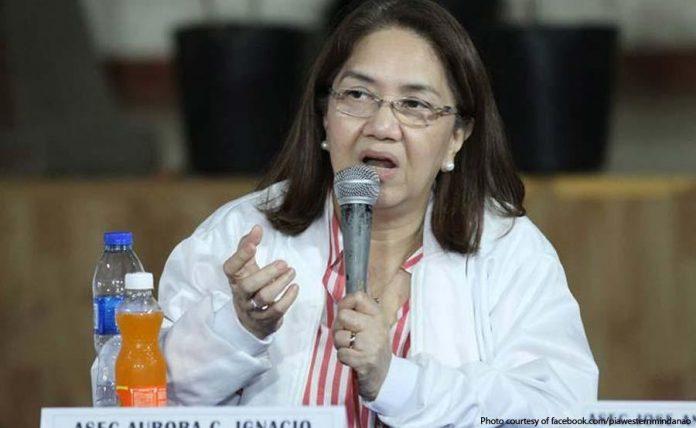 SSS president and chief executive officer Aurora Ignacio