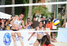 Cherry Rondina of Petron spikes the ball towards an opponent. BVR PHOTO