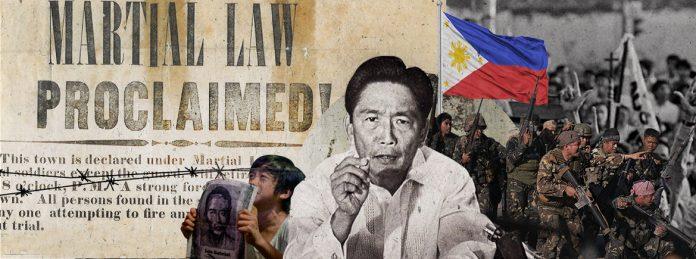 Martial law under Ferdinand Marcos