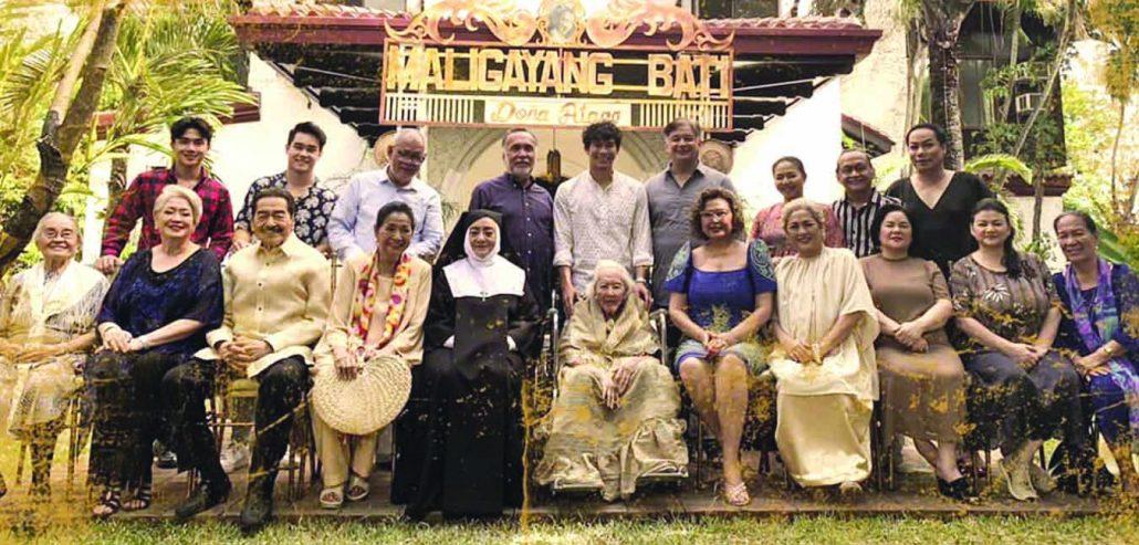 "The ensemble cast of ""Circa"" top-billed by veteran actress Anita Linda."