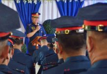 """This is my little contribution to end the problem of illegal drugs,"" says Colonel Roland Vilela, director of the Iloilo Police Provincial Office. IAN PAUL CORDERO/PN"