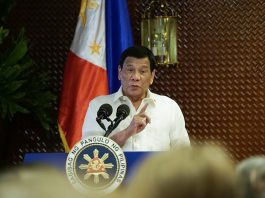 """So setting aside all the legal infirmities there, even if it was allowed, corruption was present. Sabihin ko lang sa inyo. And everybody will go – will have to go. Alam nila 'yan,"" says President Rodrigo Duterte."