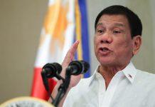 President Rodrigo Duterte sacks Pasig River Rehabilitation Commission executive director Jose Antonio Goitia for his alleged involvement in corruption. FILE PHOTO