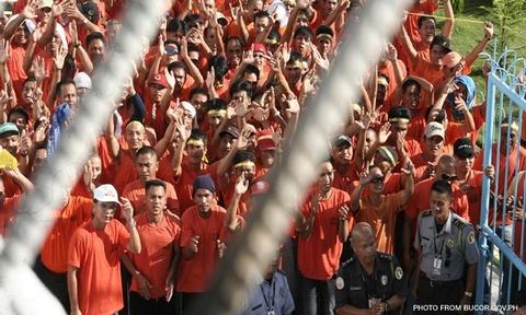 "Cebu representative Eduardo Gullas suggests ""life sentence without parole"" penalties on heinous crimes convicts amid controversy involving good conduct time allowance law. BUCOR.GOV.PH"