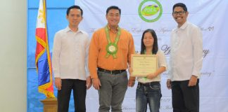 The Philippine Drug Enforcement Agency (PDEA) in Western Visayas bestowed a plaque of appreciation to Panay News Defense beat reporter Ruby Silubrico on PDEA's 17th anniversary on Monday, Sept. 2 at Jubilee Hall, City Proper, Iloilo City. IAN PAUL CORDERO