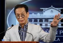 """It's a free country. Everyone is entitled to file any case against whomsoever they think that has violated the law,"" says Presidential Spokesperson Salvador Panelo. ABS-CBN NEWS"
