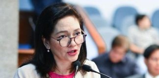 """""""While an anti-discrimination measure is welcome, the Sexual Orientation and Gender Identity and Expression Equality Bill remains the best policy tool to protect members of the lesbian, gay, bisexual, and transgender community from discrimination, harassment, and even violence,"""" says Sen. Risa Hontiveros. GMA NETWORK"""