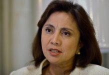 """""""Tayo, hindi lang basta kumontra, pero sinisiguro natin na bilang lingkod-bayan, mayroon tayong obligasyon na kapag may masamang pahayag o may masamang nangyayari, kailangan tayong magboses. Kahit pa sila magalit sa atin,"""" says Vice President Leni Robredo. ABS-CBN NEWS"""